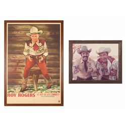 Roy Rogers Poster and Photograph