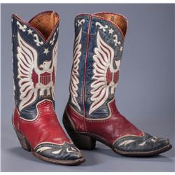 Roy Rogers' Personal Eagle Boots