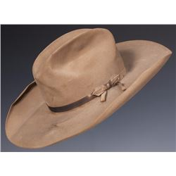 "W.F. ""Buffalo Bill"" Cody & Curt  Alexander Performance-Worn Stetson and Ephemera"