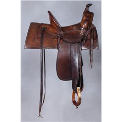 W.B. Ten Eyck Montana Saddle