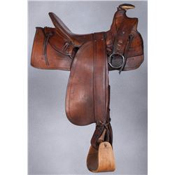 E.L. Gallatin Half-Seat Saddle