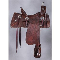 Fancy H.H. Heiser Saddle