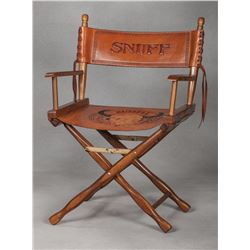 "Snuff Garrett's Personal ""Charlie Russell Riders"" Directors Chair"