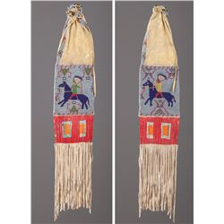 Sioux Pictorial Pipe Bag