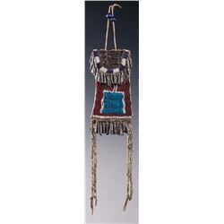 Kiowa Beaded Strike-A-Light Bag