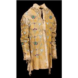Northern Plains Pictorial Hide Jacket
