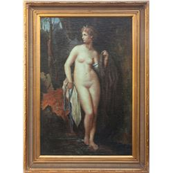 Early Saloon Nude Painting