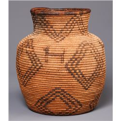 Figural Apache Basketry Olla