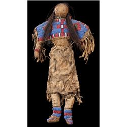 Sioux Beaded Child's Doll