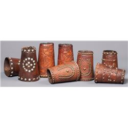 Four Pair of Marked Studded Cuffs