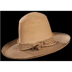 "Early ""Californio"" Straw Hat"