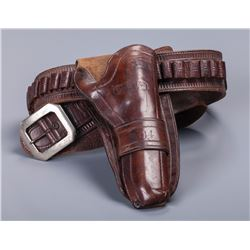 J. S. Collins & Co. Cheyenne Holster with Belt