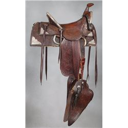 Al Furstnow Hollywood Show Saddle