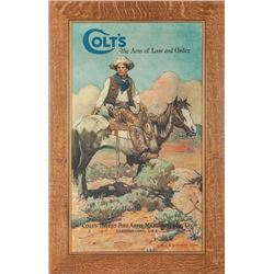 "Colt ""Tex and Patches"" Lithograph"
