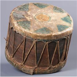 Native Painted Drum
