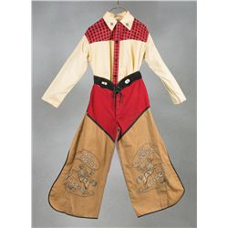 Roy Roger's Child's Shirt and Chaps