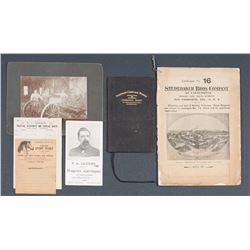 Studebaker Bros. Catalog & Related Ephemera