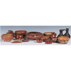 Collection of Pueblo Pottery & Artifacts