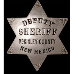 McKinley County New Mexico Badge