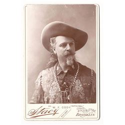 "William F. ""Buffalo Bill"" Cody Cabinet Card"