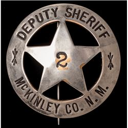 New Mexico Deputy Sheriff Badge