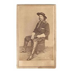 George Armstrong Custer Civil War CDV