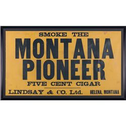 Montana Pioneer Cigar Advertisement