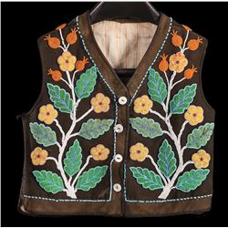 Cree Beaded Child's Vest