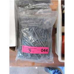 3 Pack of 100 number 3 Robinson runner bits