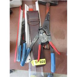 Assorted Crimping Tools & Drafting Tools