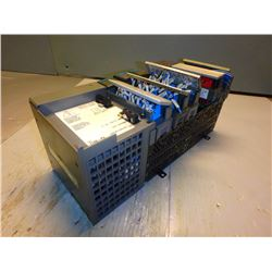ALLEN BRADLEY 1746-A7 SLC 500 7-Slot Rack  w/ Power Supply 1746-P4 A and Output Module 1746-OW16 C