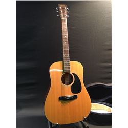 TAKAMINE MODEL G330 ACOUSTIC GUITAR, EARLY 1970S MARTIN D-18 COPY LAWSUIT ERA GUITAR, COMES WITH