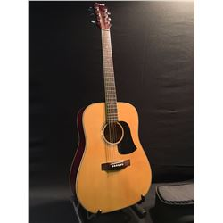 ARIA MODEL AW-20N ACOUSTIC GUITAR, COMES WITH SOFT CASE