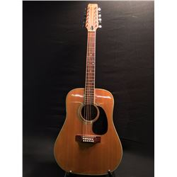 SHELBY MODEL 770 12 ACOUSTIC GUITAR, 12 STRING, SERIAL NUMBER 701408, MADE IN JAPAN
