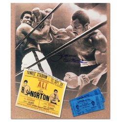 Ken Norton Photo Ticket Signed Photo by Ken Norton (1943-2013)