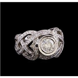 14KT White Gold 1.81 ctw Diamond Ring