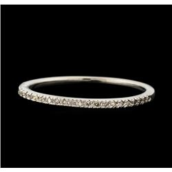 0.16 ctw Diamond Ring - 10KT White Gold