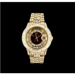 Rolex 18KT Gold President Diamond Day-Date Men's Watch
