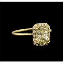 14KT Yellow Gold 2.41 ctw Diamond Unity Ring
