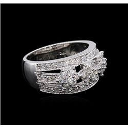 0.97 ctw Diamond Ring - 14KT White Gold