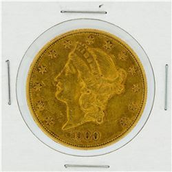 1900-S $20 AU Liberty Head Double Eagle Gold Coin