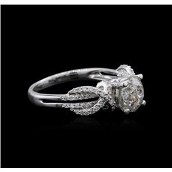 14KT White Gold 1.86 ctw Diamond Ring