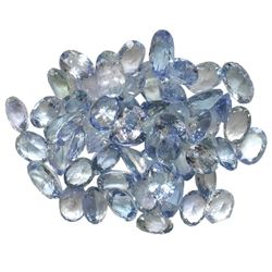 10.5 ctw Oval Mixed Tanzanite Parcel