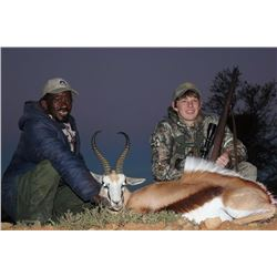 10 Days Plains Game Hunt for 1 or 2 Hunters in South Africa.