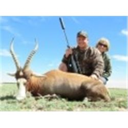 6 Days Plains Game Hunt for 2 Hunters and 2 Non-hunters in South Africa