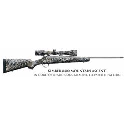 Kimber 8400 Mountain Ascent in Gore Optifade Concealment, Elevated II Pattern w/Scope