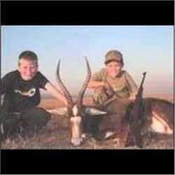 5 Days Plains Game Hunt in South Africa.