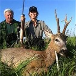 3 Days Roe Deer Hunt and 3 Tour Days in Serbia for 1 Hunter and 1 Non-Hunter.