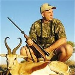 7 Days Plains Game Hunt in South Africa for 1 Hunter.