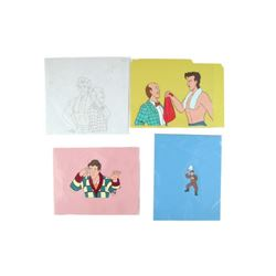 Ghostbusters TV Show (1986) Animation Cels Movie Props
